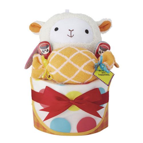 ニューヨーク初の人気ブランド!出産祝いおむつケーキ