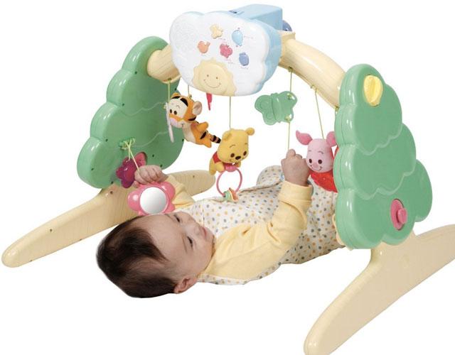 赤ちゃんが楽しい時間を過ごせるメリー