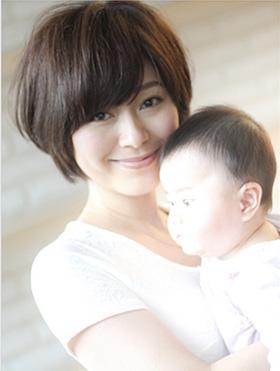 産後の髪型 ボブヘア