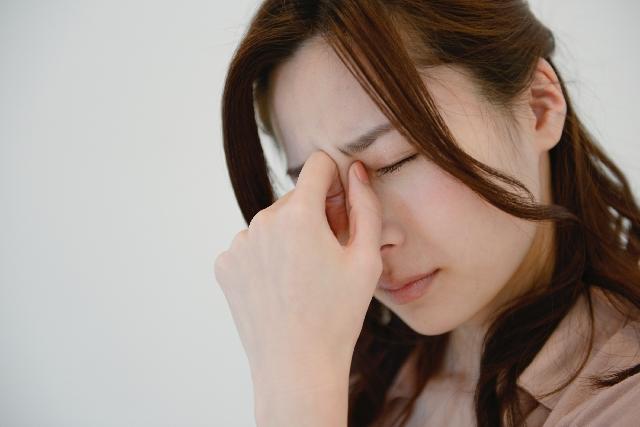 産後、熱を感じるママ