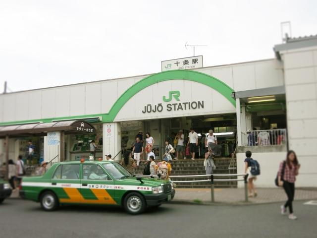 駅前のタクシー広場