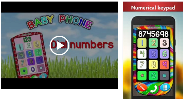 子供のための赤ちゃんの携帯電話
