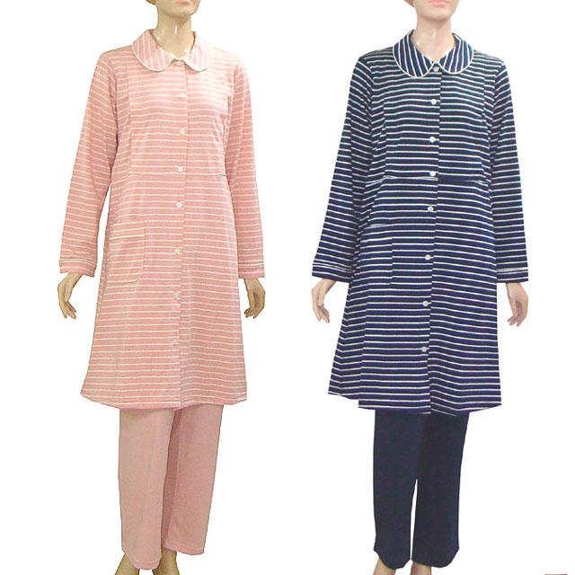 一着は持っておきたいシンプルなボーダーデザイン 安いマタニティパジャマ