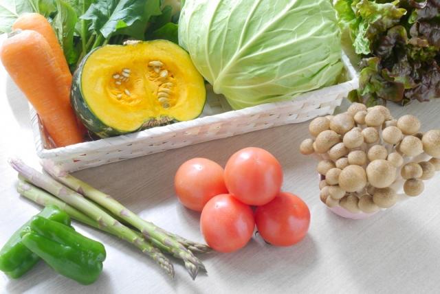 緑黄色野菜(ニンジン・ほうれん草・ピーマン・かぼちゃなど)