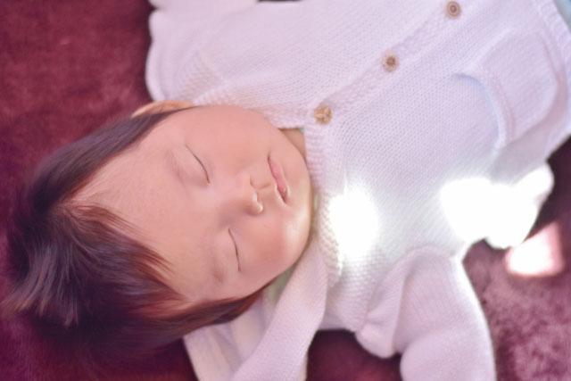 寝顔が可愛すぎる赤ちゃん