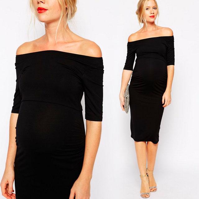 イギリスブランド「ASOS」のマタニティフォーマル!大胆デザインが素敵なドレスで入園式&入学式へ